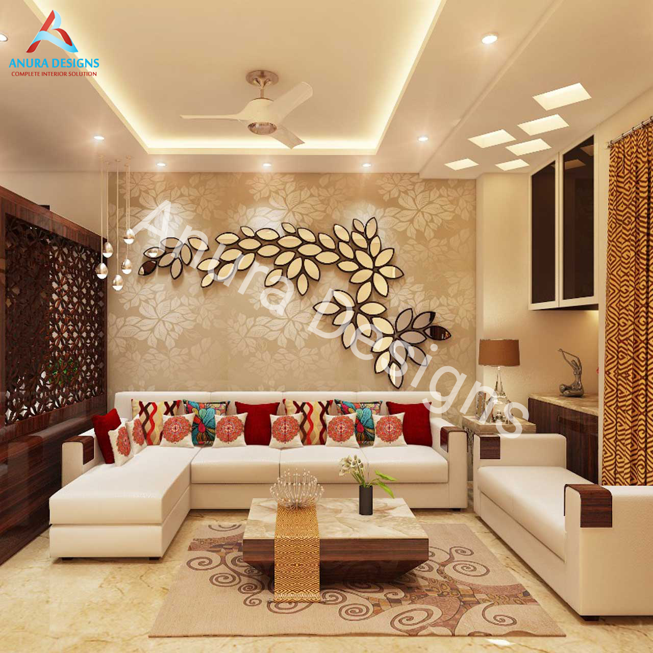 Living Room Interior Designer in Baljit Nagar